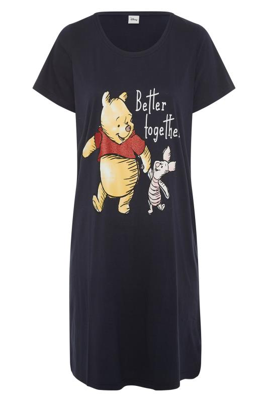 Tall  LTS Black 'Better Together' Winnie Nightdress