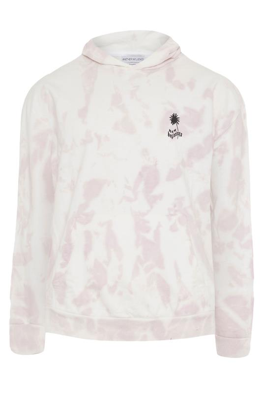 Plus Size  ANOTHER INFLUENCE White Tie Dye Hoodie