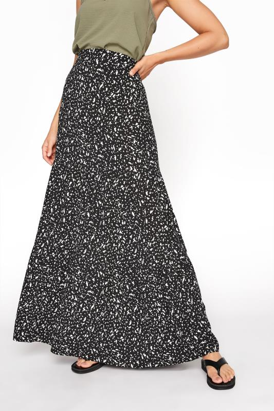 LTS Black Animal Print Tiered Maxi Skirt_B.jpg