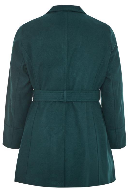 Teal Belted Coat