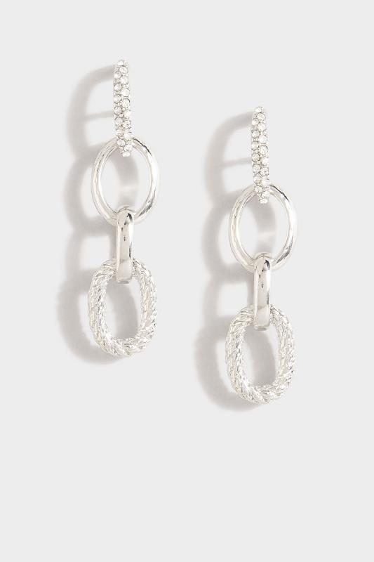 Silver Diamante Oval Drop Earrings_A.jpg