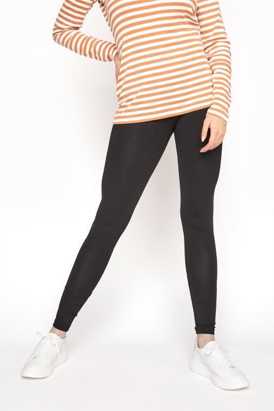 LTS Black Cotton Leggings