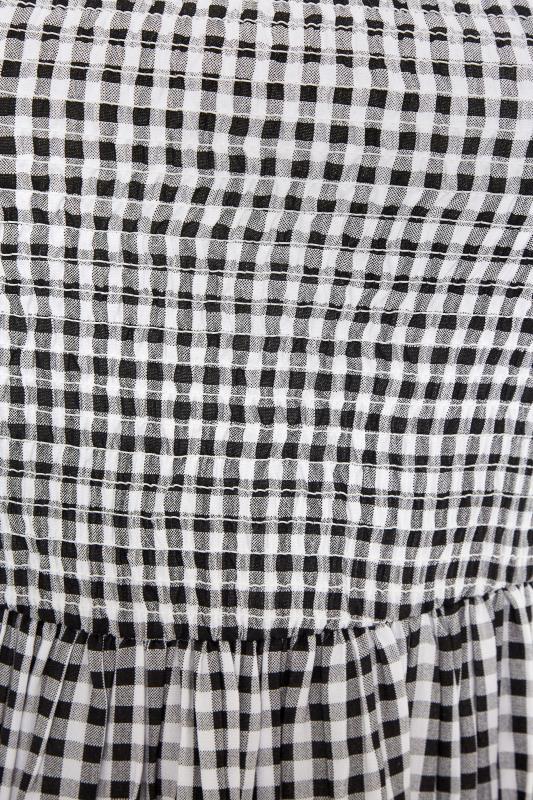 Black Gingham Shirred Midaxi Dress_E.jpg