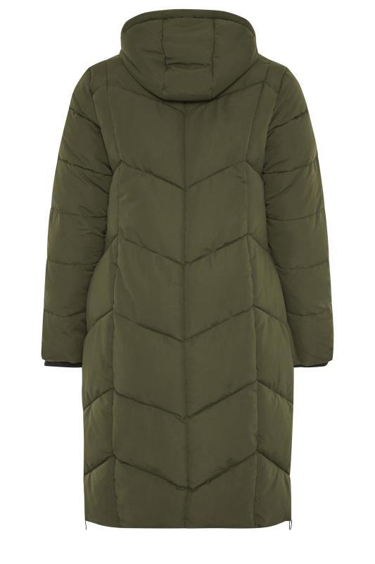Khaki Hooded Puffer Maxi Coat_BK.jpg