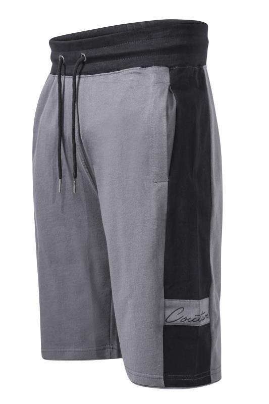 D555 Grey Couture Jogger Shorts