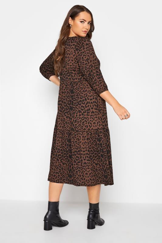 Brown Animal Print Midaxi Dress_C.jpg
