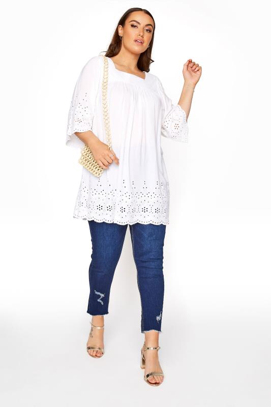 White Broderie Anglaise Milkmaid Top_B.jpg