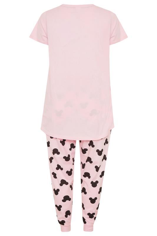 DISNEY Pink Mickey and Minnie Mouse Pyjama Set_BK.jpg