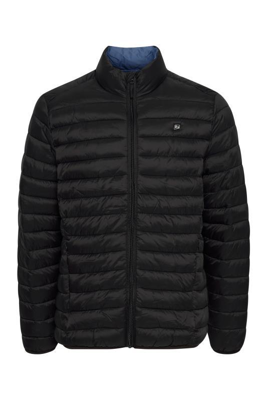 Plus Size  BLEND Black Padded Jacket