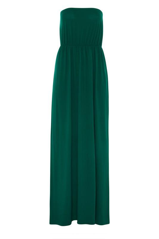 LTS Emerald Green Strapless Maxi Dress_F.jpg