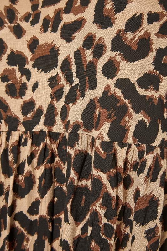 Beige Animal Print Midaxi Dress_S.jpg