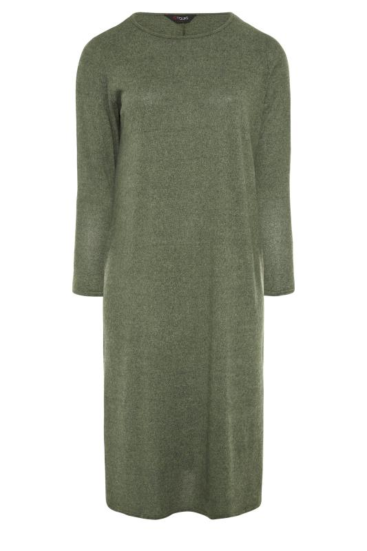 Green Knitted Jumper Dress_F.jpg