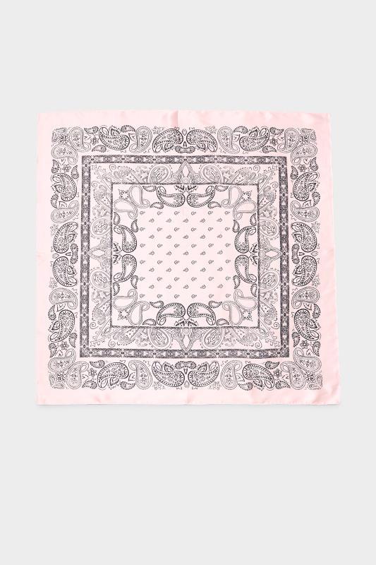 Pink Bandana Satin Scarf_A.jpg