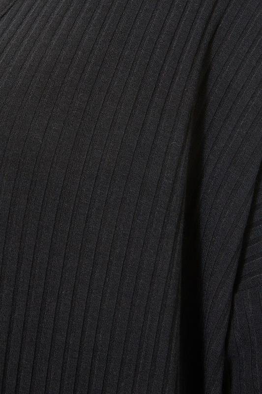 LIMITED COLLECTION Black Ribbed Cardigan_S.jpg