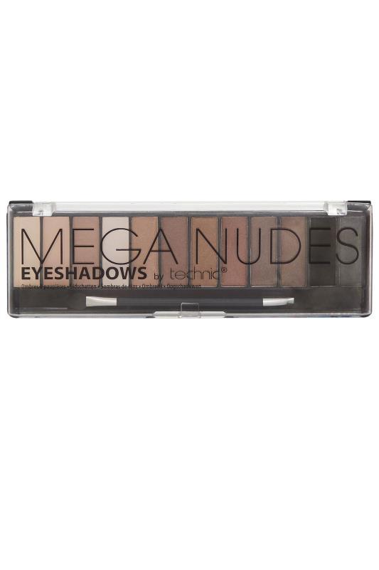dla puszystych Technic Mega Nudes Eyeshadow Palette