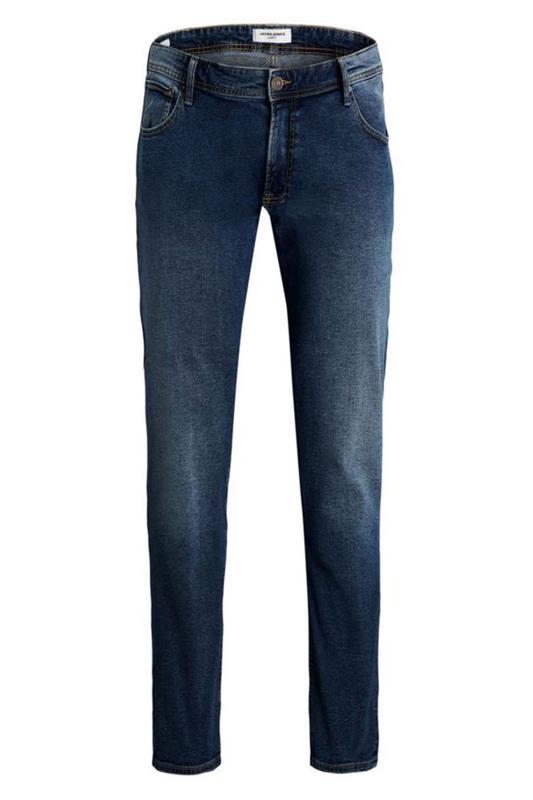 Men's  JACK & JONES Blue Glenn Straight Leg Jeans