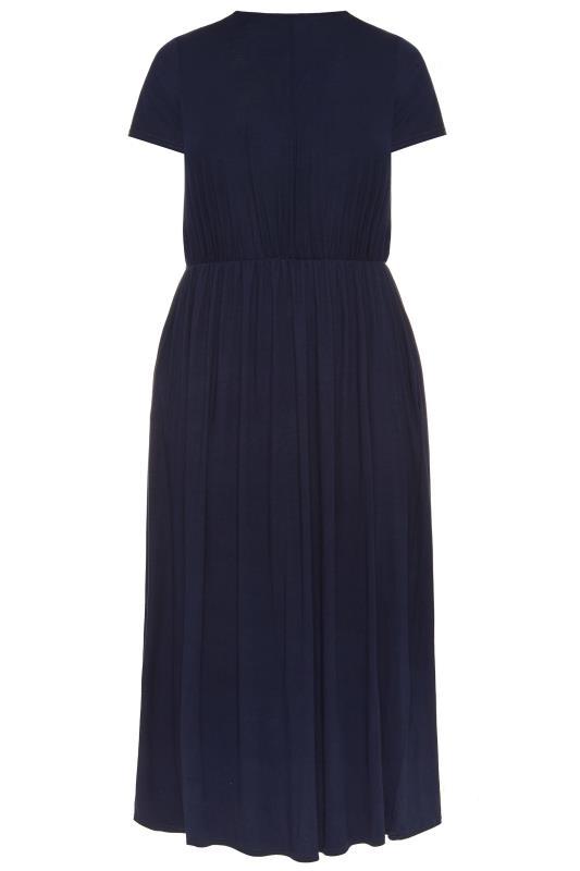 YOURS LONDON Navy Pocket Maxi Dress_157051BK.jpg