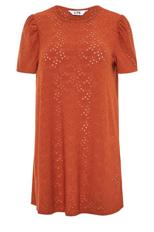 LTS Rust Broidery Puff Sleeve Top_f.jpg