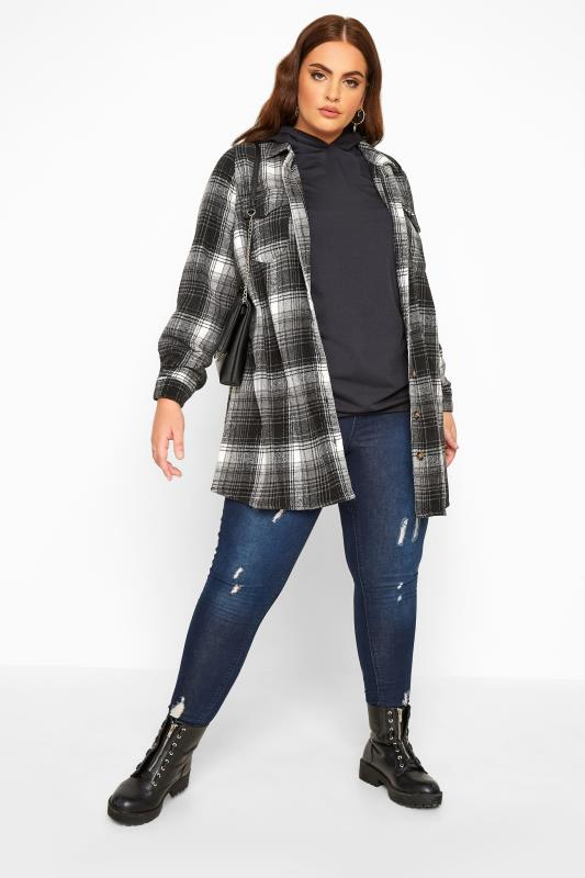 LIMITED COLLECTION Black Check Shacket