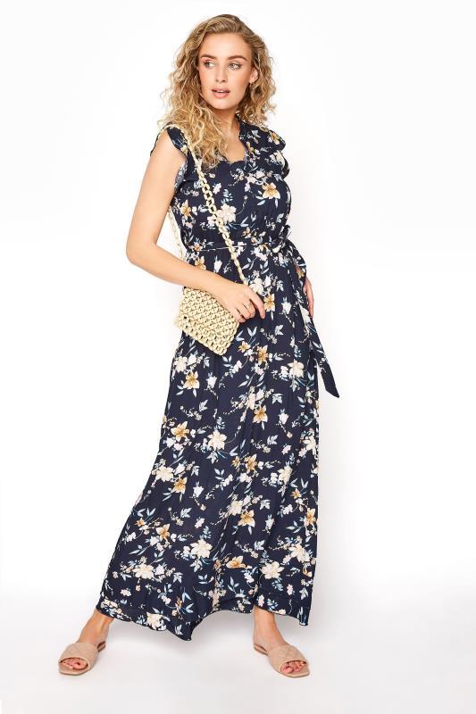 LTS Navy Floral Belted Tie Maxi Dress_B.jpg