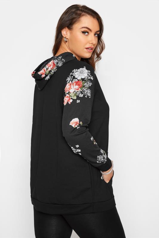 Black Floral Sleeve Hoodie_C.jpg