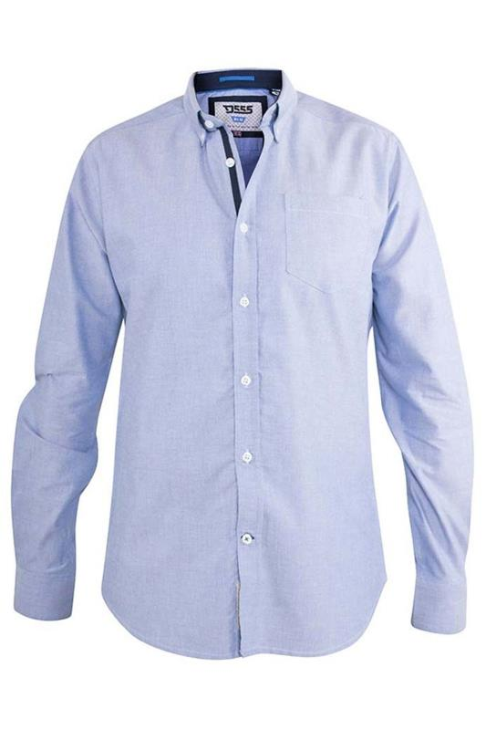 D555 Blue Clarence Oxford Shirt