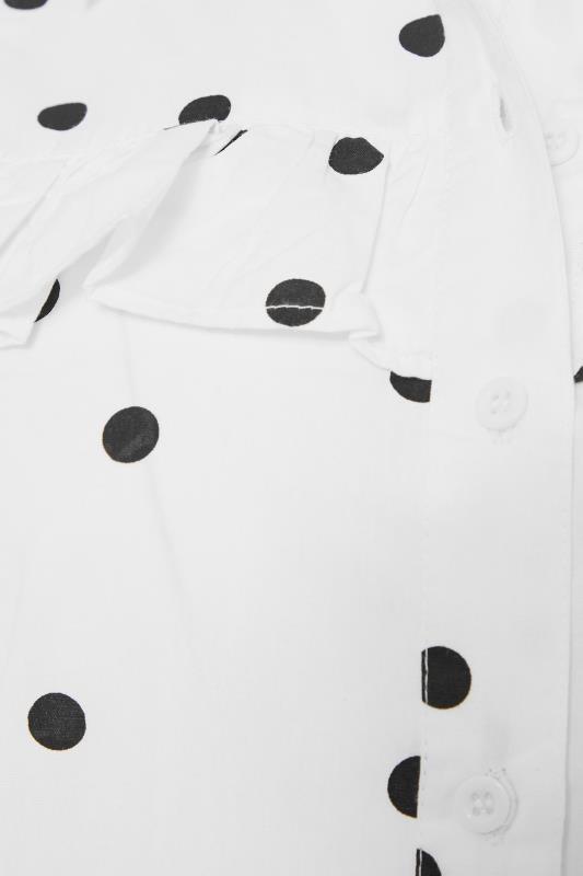 LTS White Polka Dot Puff Sleeve Dress_S.jpg