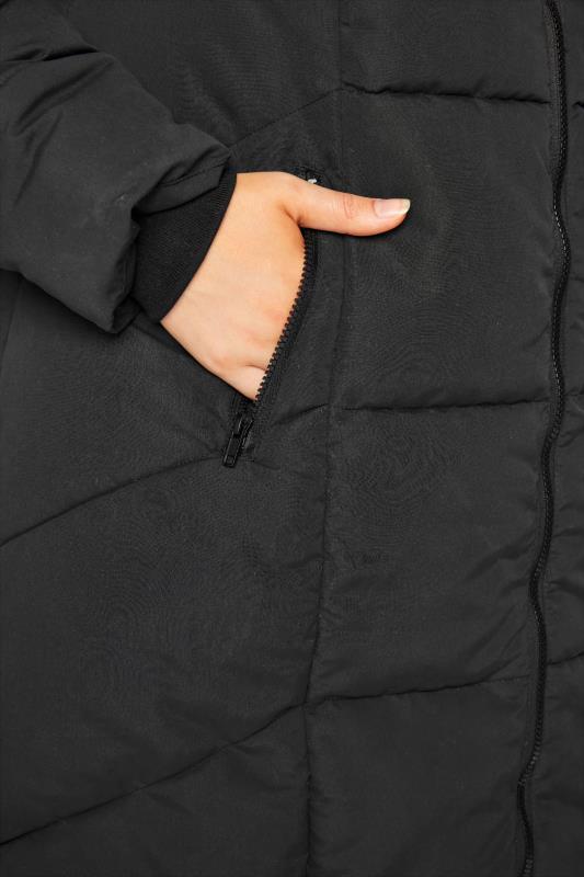 Black Hooded Puffer Maxi Coat_E.jpg