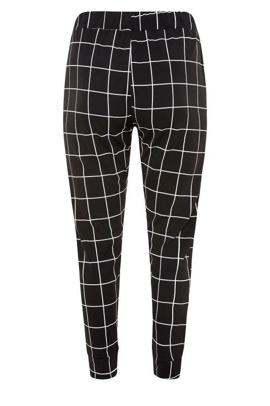Black Grid Check Cuffed Trousers_BK.jpg