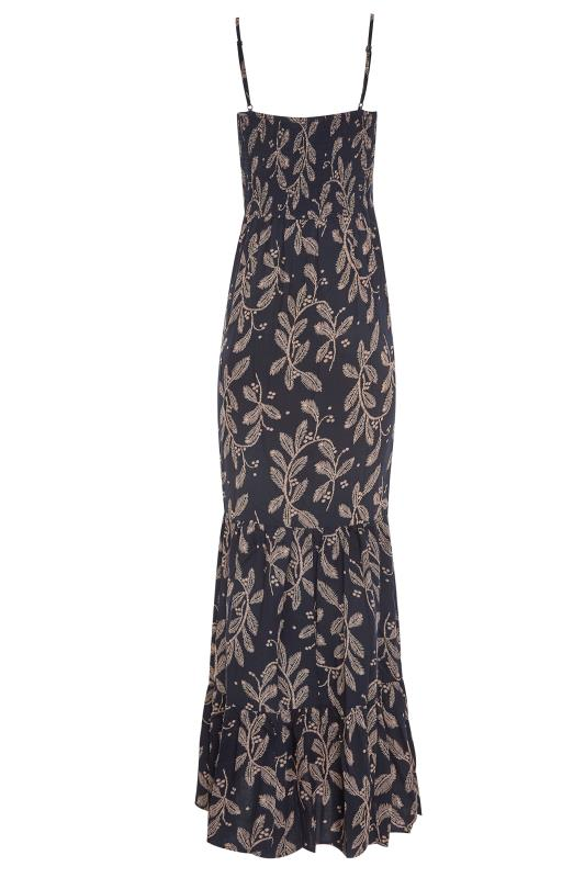 LTS Navy Lace Trim Cami Top Dress_BK.jpg