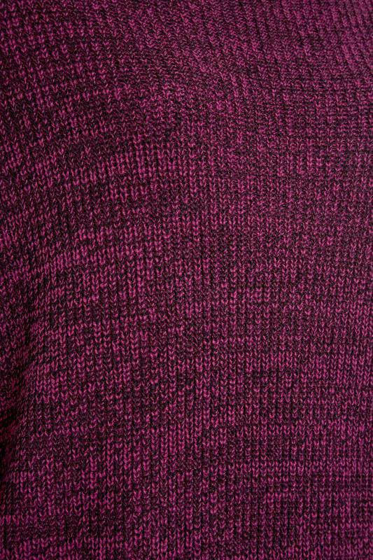 Plum Oversized Knitted Jumper_S.jpg