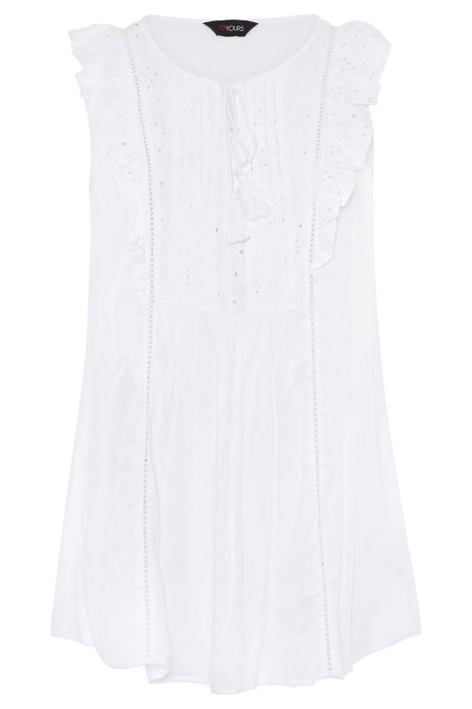 White Broderie Anglaise Frill Top_F.jpg