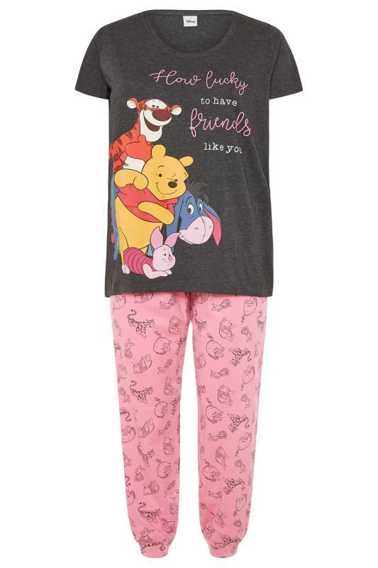 Grey Disney Winnie The Pooh Pyjama Set