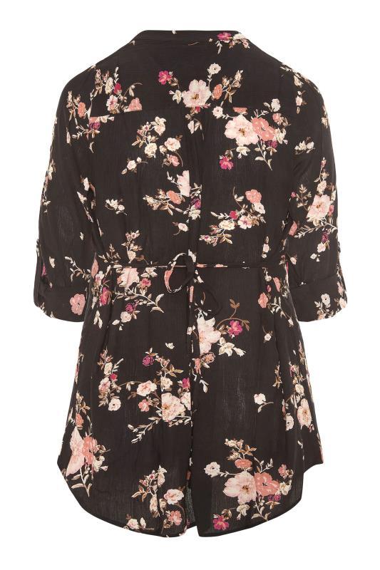 Black Floral Pintuck Shirt_BK.jpg