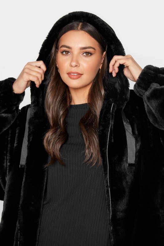 LTS Black Oversized Faux Fur Jacket_E.jpg