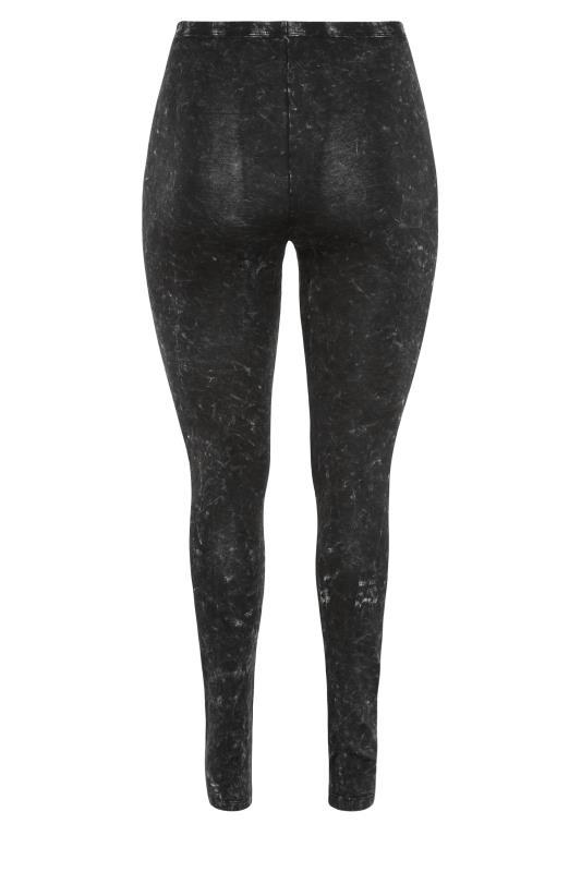 Black Acid Wash Cotton Leggings_BK.jpg