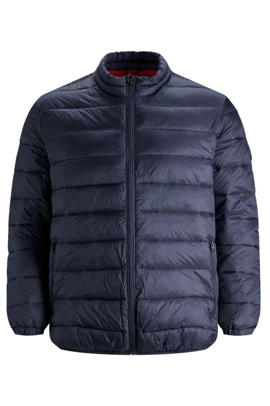 Plus Size Casual / Every Day JACK & JONES Navy Magic Puffer Coat