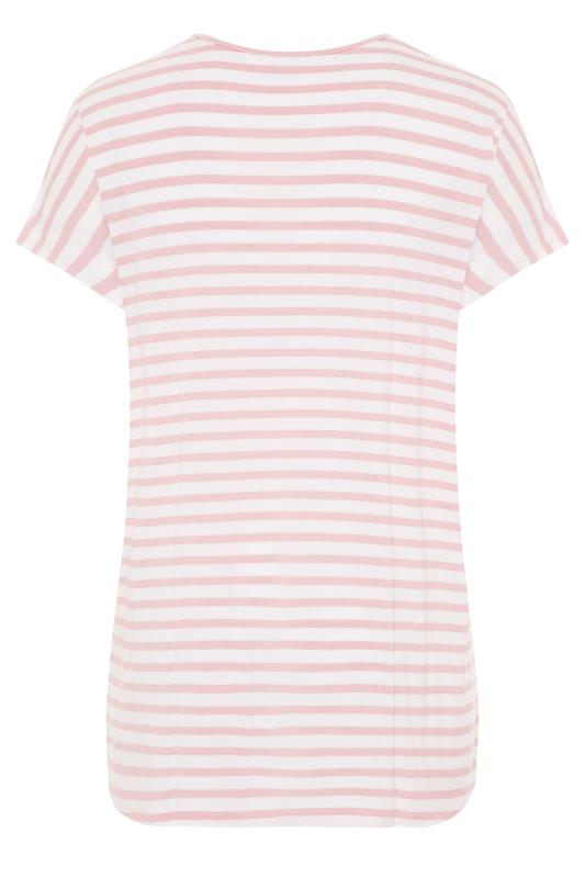 LTS Pink Stripe Soft Touch T-Shirt_BK.jpg