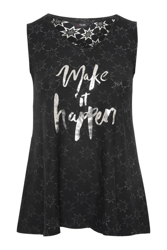 Black 'Make It Happen' Slogan Vest_F.jpg
