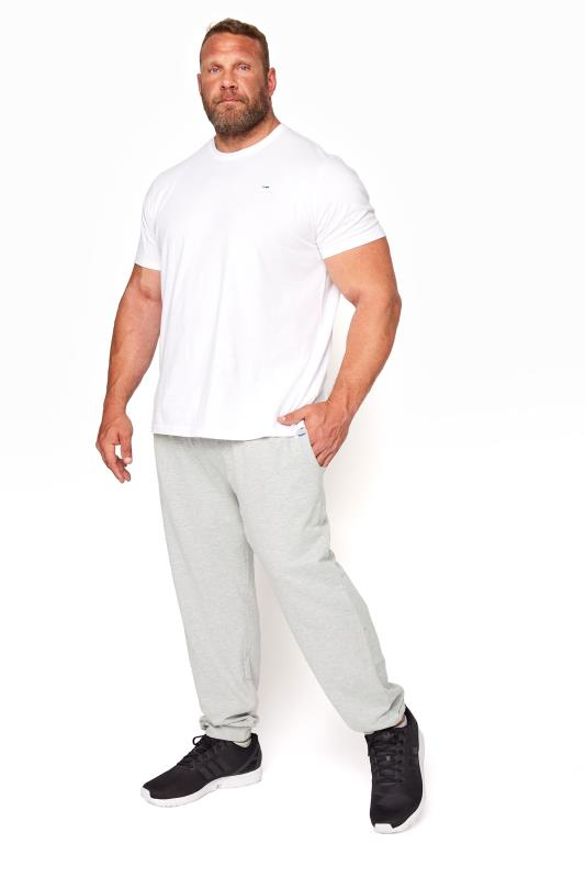 Men's Casual / Every Day BadRhino Grey Marl Essential Joggers