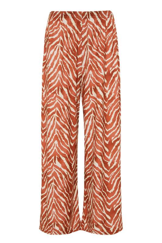 LTS Rust Zebra Print Wide Leg Culottes_F.jpg