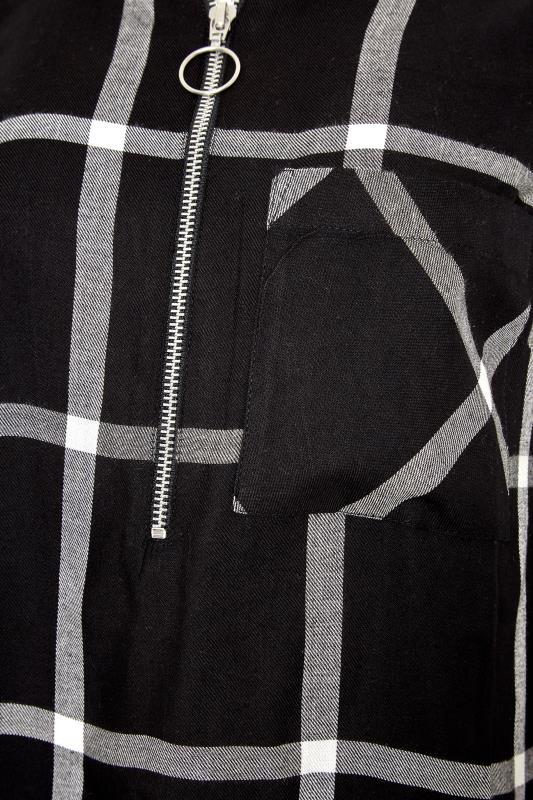 LTS Black Check Zip Shirt_S.jpg