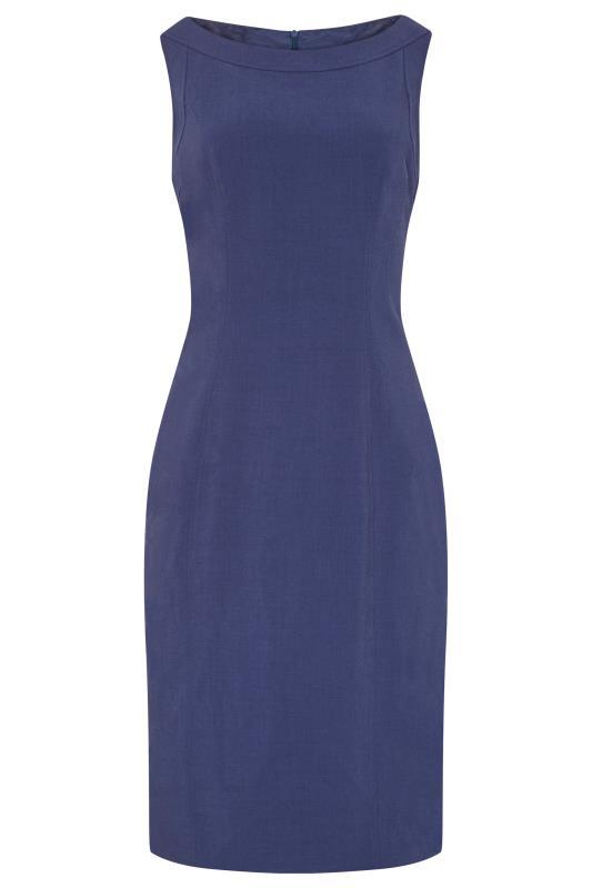 LOUBEN Blue Suit Dress