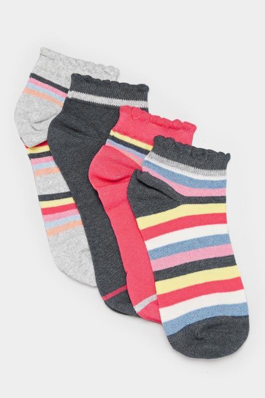 PACK Rainbow Trainer Socks   Sizes