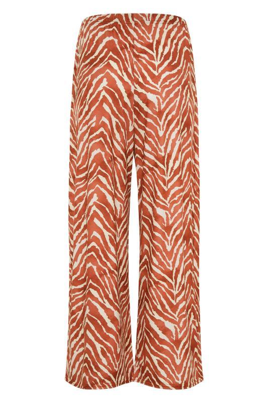 LTS Rust Zebra Print Wide Leg Culottes_BK.jpg