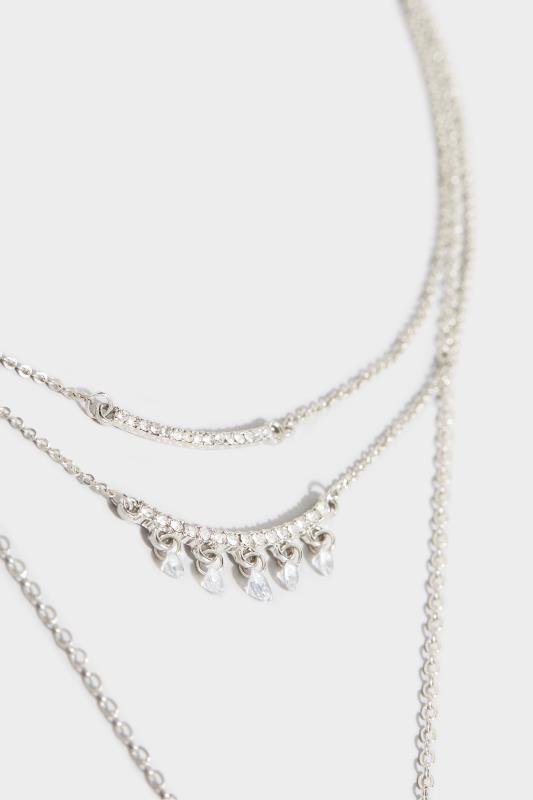 Silver Two Tier Diamante Necklace_D.jpg