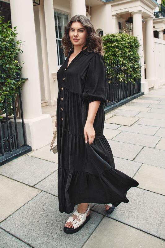 THE LIMITED EDIT Black Tiered Dress_L.jpg