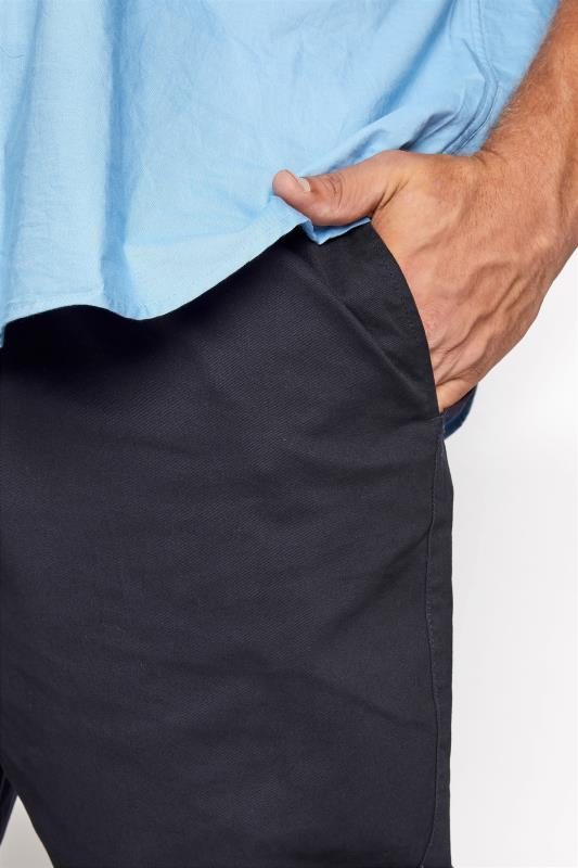 BadRhino Navy Elasticated Waist Rugby Trousers_D.jpg
