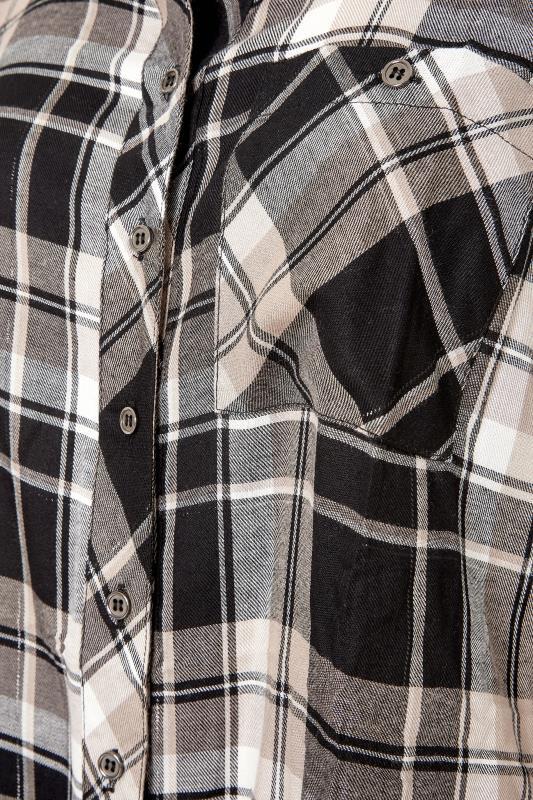 Black & Beige Check Boyfriend Shirt_S.jpg