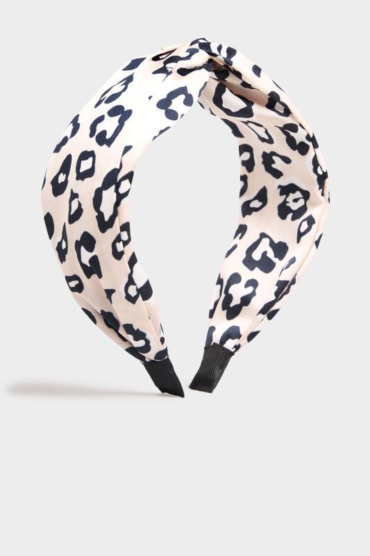 Pink Satin Leopard Twist Headband_F.jpg